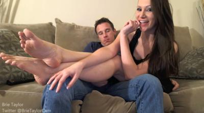 Mistress humiliates her cuckold boyfriend